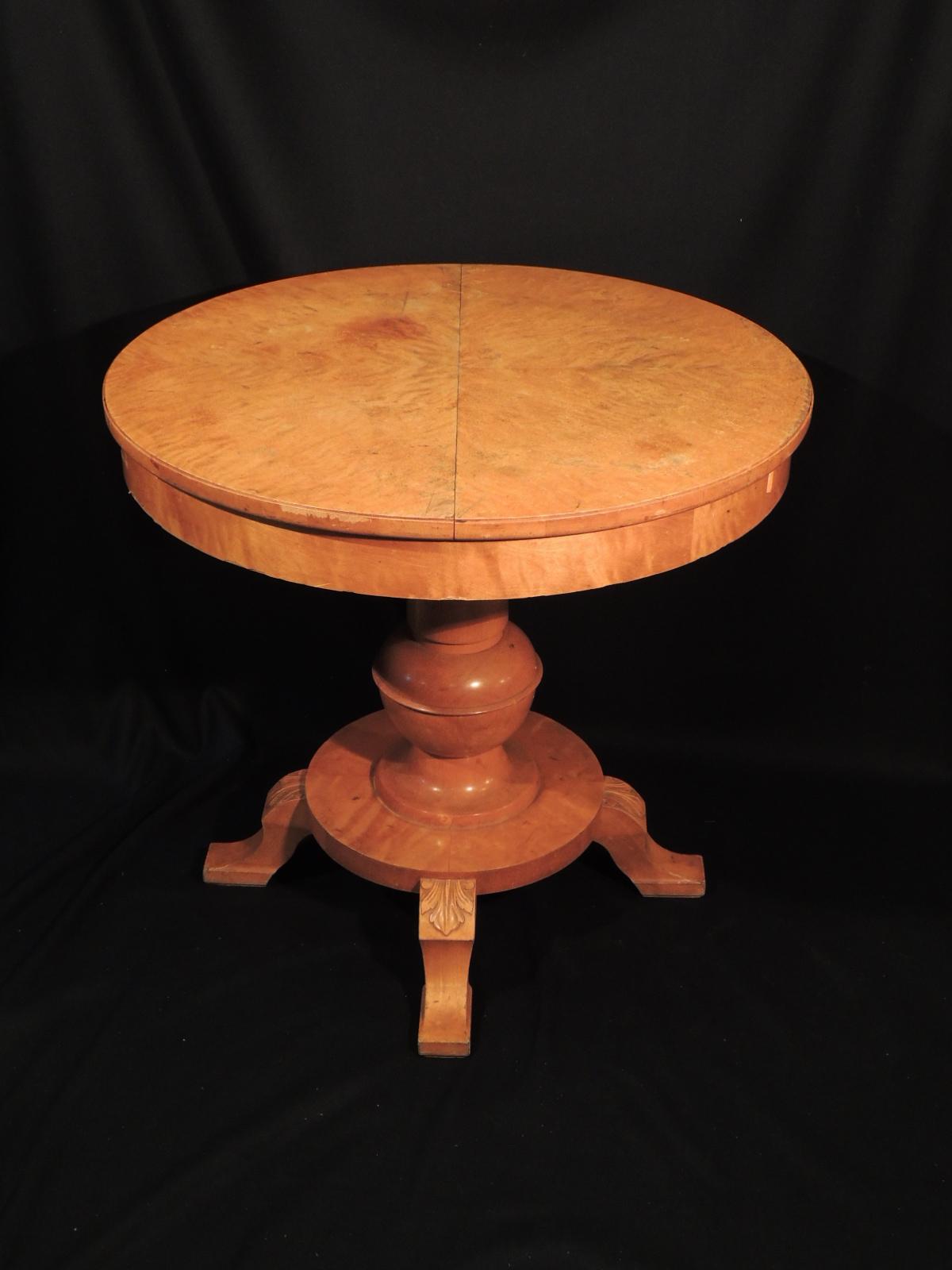 Usato vecchio antico di molinelli francesco - Tavolo tondo estensibile ...