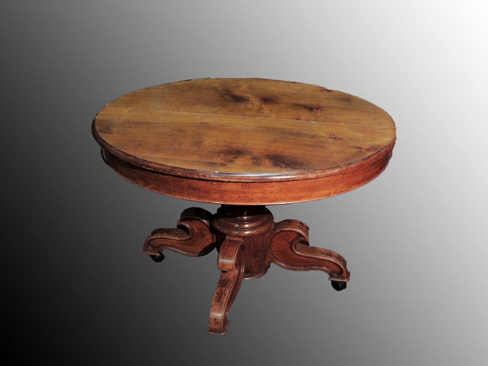 Tavolo Ovale Antico : Molinelli antico vecchio usato